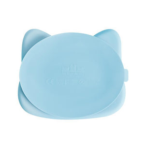 Stickie Plate - Cat Powder Blue