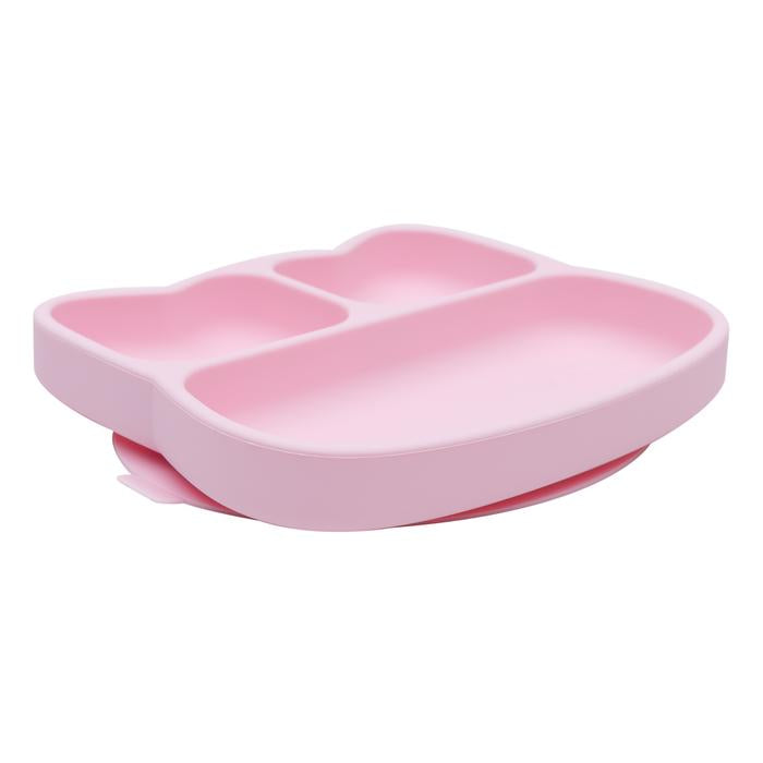 Stickie Plate - Cat Powder Pink