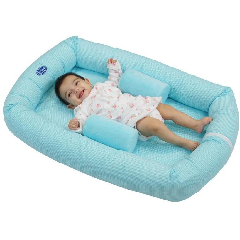 Baby Nest - Breathe Eze Cosy Crib Blue - Baby Luno