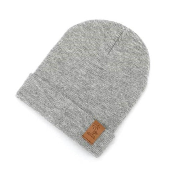 Beanie Signature - Grey (Kids-Adults)