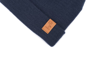 Beanie Signature - Navy (Kids-Adults)