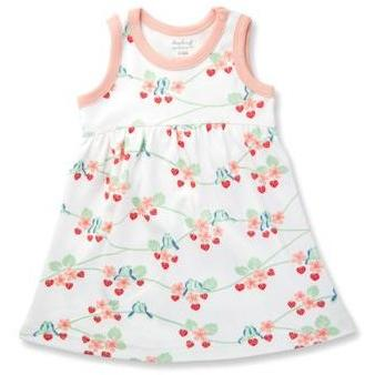 Baby Dress - Bluebirds - Baby Luno