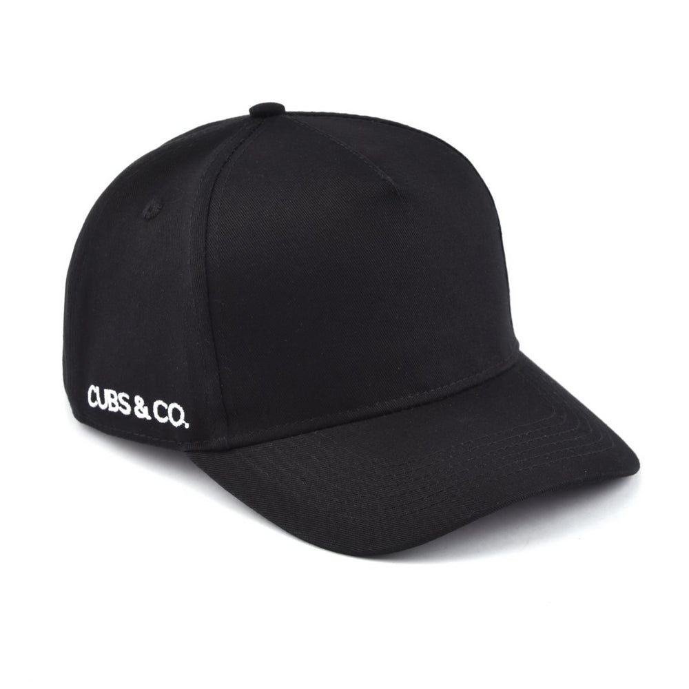 Snapback Hat - PERSONALISED (Kids-Adults) Black