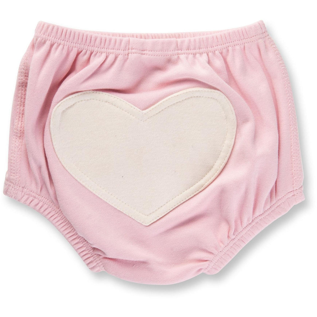 Baby Bloomer - Dusty Pink Heart - Baby Luno
