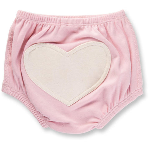 Baby Bloomer - Dusty Pink Heart