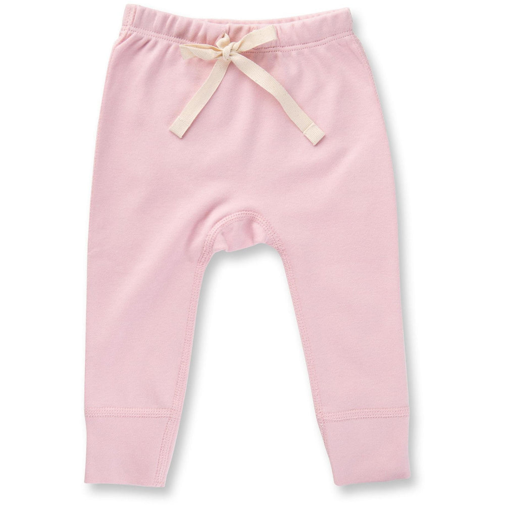 Baby Pants - Dusty Pink Heart - Baby Luno
