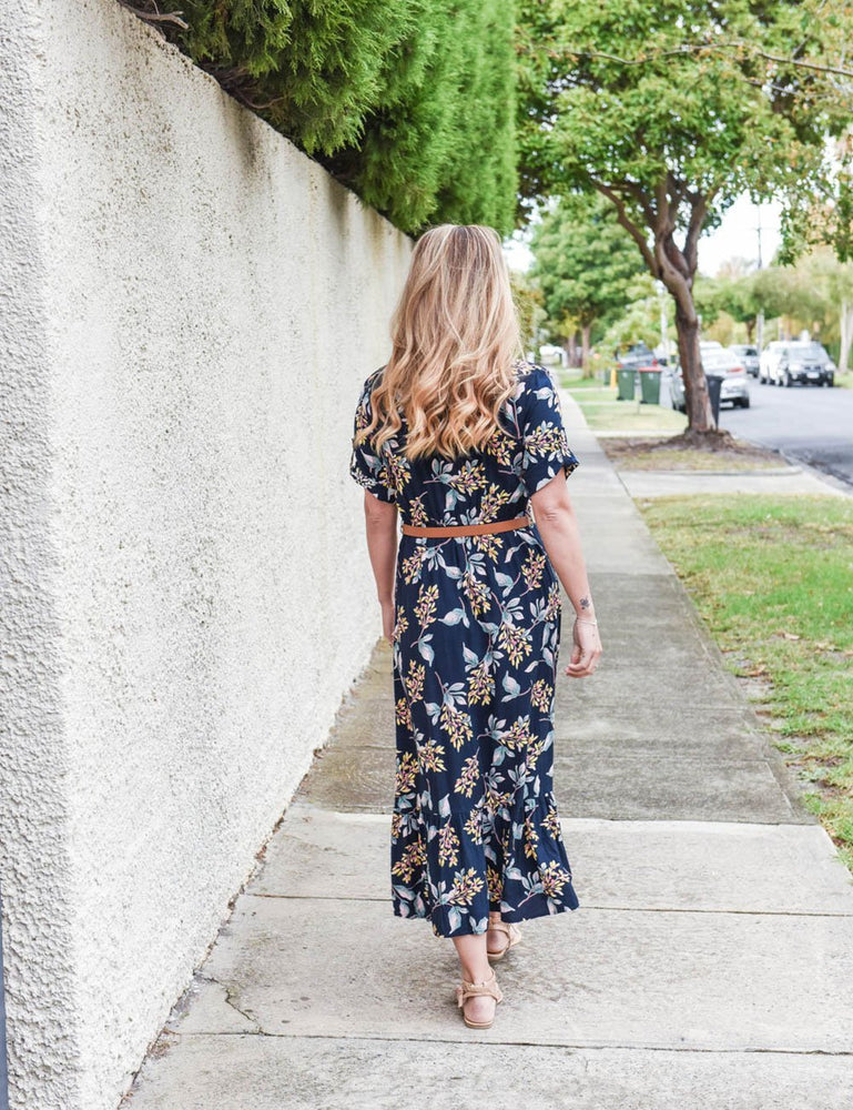Natasha Floral Maxi Nursing Dress - Baby Luno