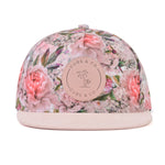 Snapback Hat - Floral Pink (Kids-Adults)
