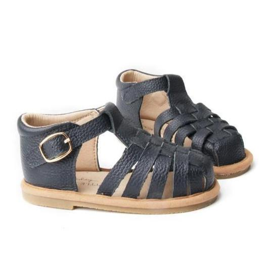Baby Shoe - Little MeMe Frankie Sandal Navy