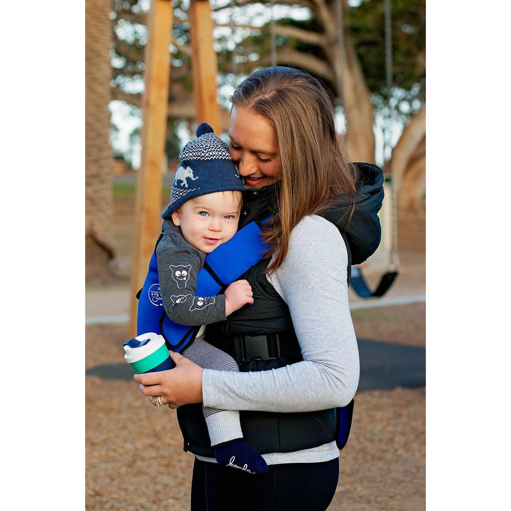 Baby Carrier - Explorer Neoprene Royal Blue - Baby Luno
