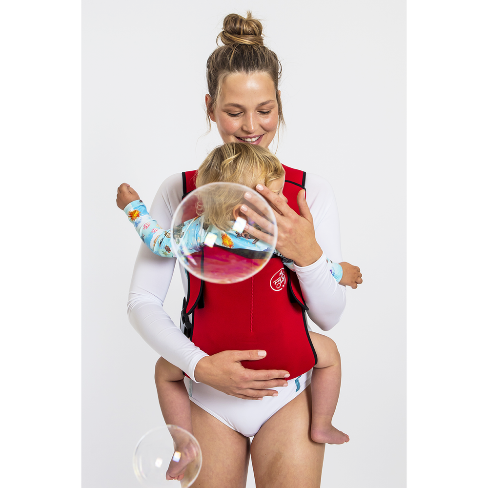 Baby Carrier - Explorer Neoprene Red Love