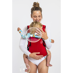 Baby Carrier - Explorer Neoprene Red Love - Baby Luno