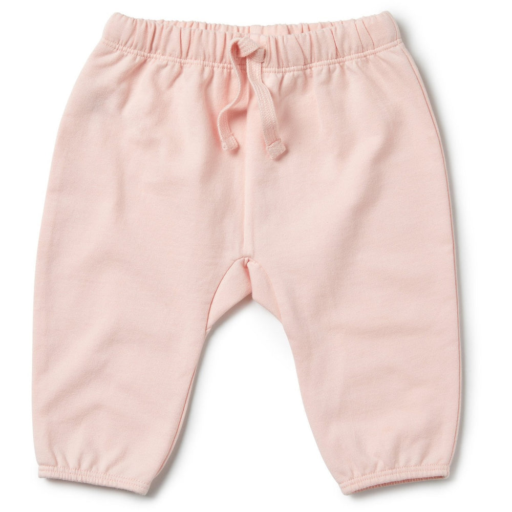 Baby Slouch Pant - Wilson and Frenchy Peachy Pink - Baby Luno