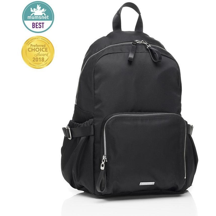 Baby Bag - Storksak Hero Backpack Black (PRE-ORDER) - Baby Luno