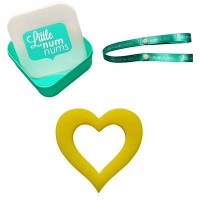 Teether - Yellow Heart - Baby Luno