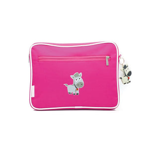 Kids Pencil Case / Ipad Case - Pink - Baby Luno