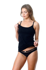 Nursing Singlet - My Everyday Camisole Hotmilk