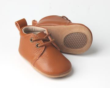 Kids Shoe - Little MeMe Oxford Charlie Tan