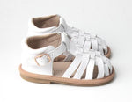 Kids Shoe - Little MeMe Sandal Mabel White