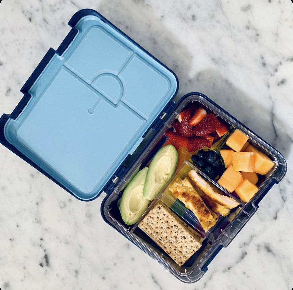 Bento Lunch Box - Blue - Baby Luno