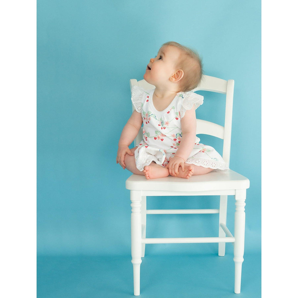 Baby Skirt Bloomer - Bluebirds - Baby Luno