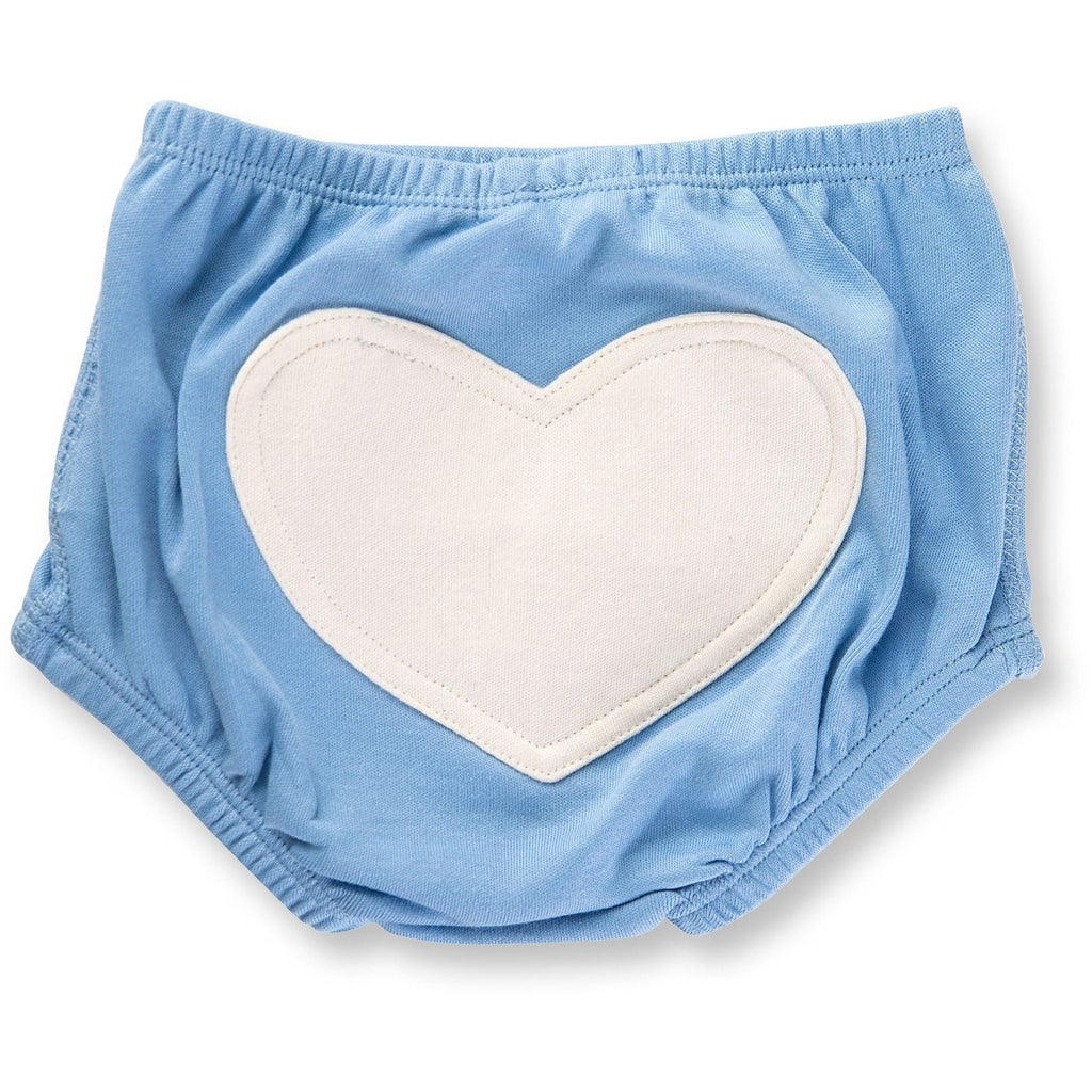 Baby Bloomer - Little Boy Blue Heart - Baby Luno