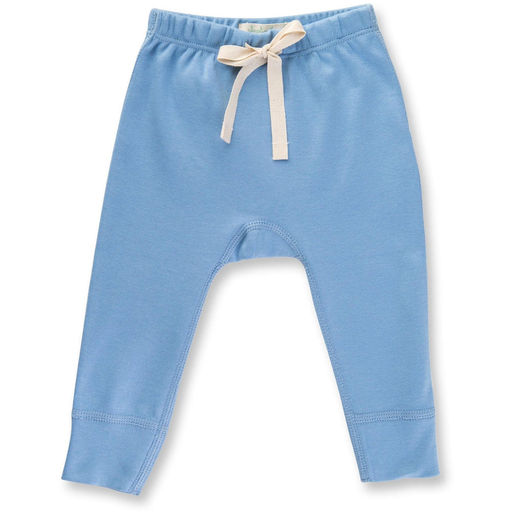 Baby Pants - Little Boy Blue Heart - Baby Luno