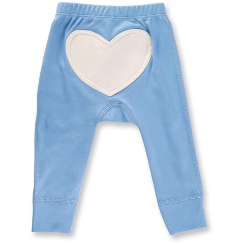Baby Pants - Little Boy Blue Heart