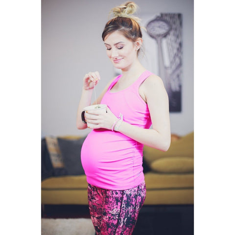 Maternity Leggings - Graffiti Pregnancy & Post-Natal