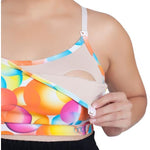 Nursing Sports Bra - Maze Bubbles - Baby Luno