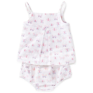Load image into Gallery viewer, Baby Smock Top - Mini Flutter - Baby Luno