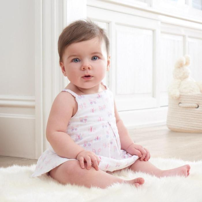 Load image into Gallery viewer, Baby Ruffle Bloomer - Mini Flutter - Baby Luno