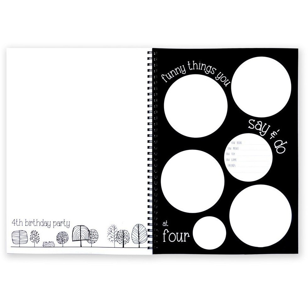 The Monochrome Baby Book - Baby Luno