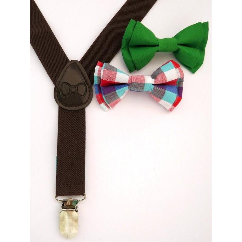 Bow Tie & Suspenders - Mr. Maxwell