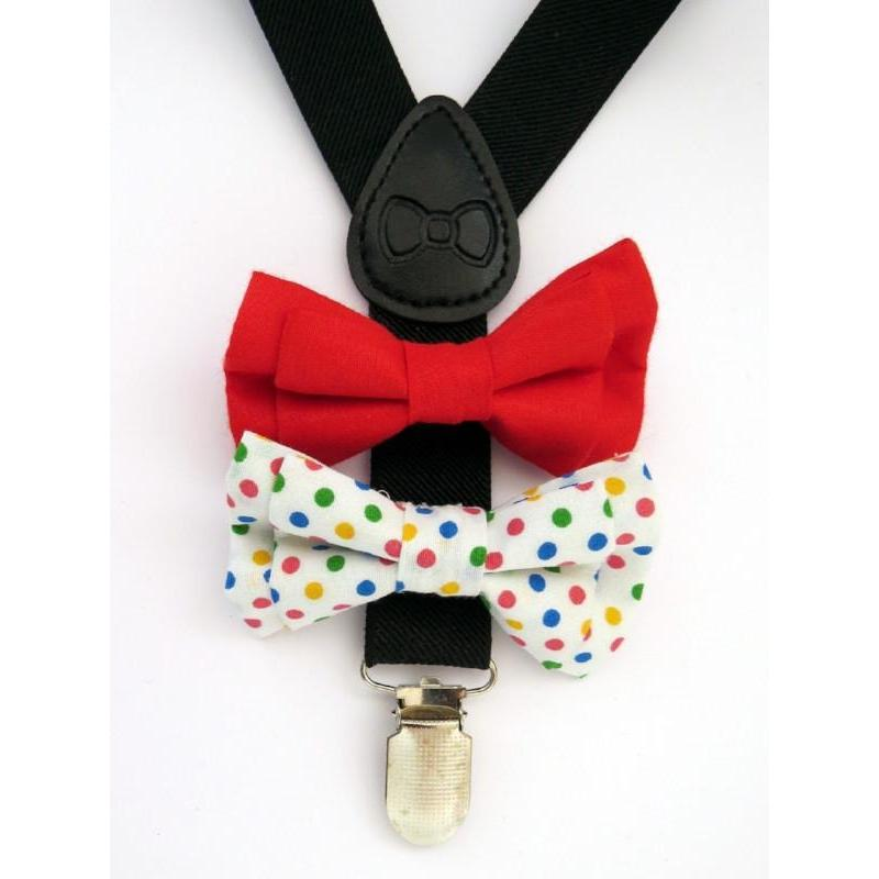 Bow Tie & Suspenders - Mr. Oscar - Baby Luno