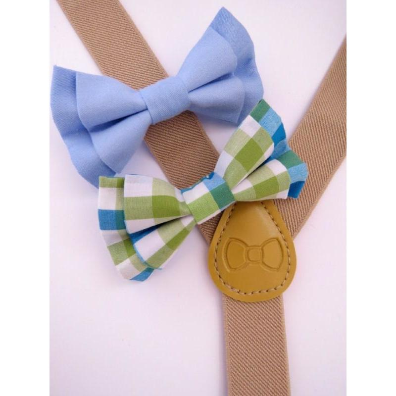 Bow Tie & Suspenders - Mr. Tommy - Baby Luno