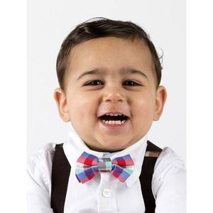 Load image into Gallery viewer, Bow Tie & Suspenders - Mr. Maxwell - Baby Luno