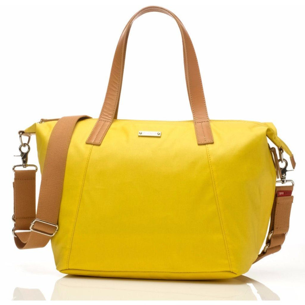 Baby Bag - Storksak Noa Yellow - Baby Luno