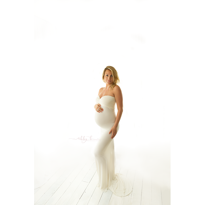 Load image into Gallery viewer, Maternity Gown - Oasis - Baby Luno