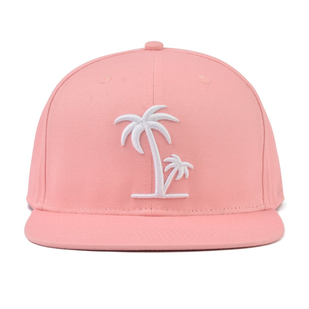 Load image into Gallery viewer, Snapback Hat - Peach Palm (Kids-Adults)