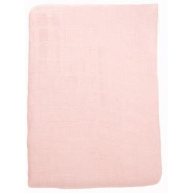 Baby Bamboo Swaddle Blanket - Perfectly Pink - Baby Luno