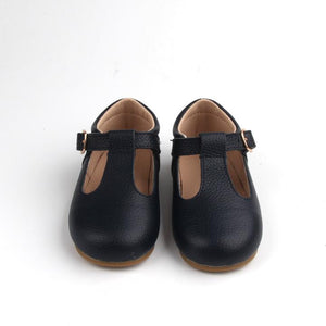 Load image into Gallery viewer, Baby Shoe - Little MeMe London Tbar Navy