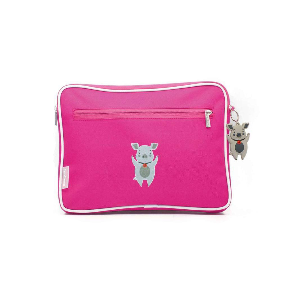 Load image into Gallery viewer, Kids Pencil Case / Ipad Case - Pink - Baby Luno