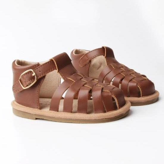 Baby Shoe - Little MeMe Scout Sandal Chocolate