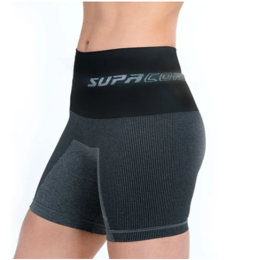 Postpartum Recovery Shorts - CORETECH™ SupaCore Grey
