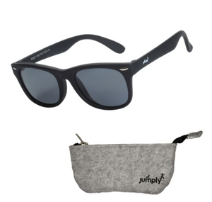 Kids Flex-Frame Sunglasses Polarized UV400 - Black