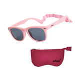 Baby & Toddler Flex-Frame Sunglasses Polarized UV400 With Strap - Pink