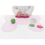 Placemat - Bunny Powder Pink - Baby Luno