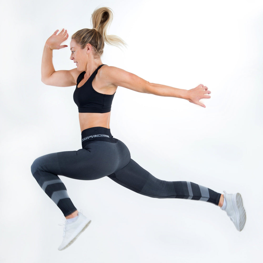 Load image into Gallery viewer, Postpartum Recovery Leggings - CORETECH™ SupaCore Grey Jacinda
