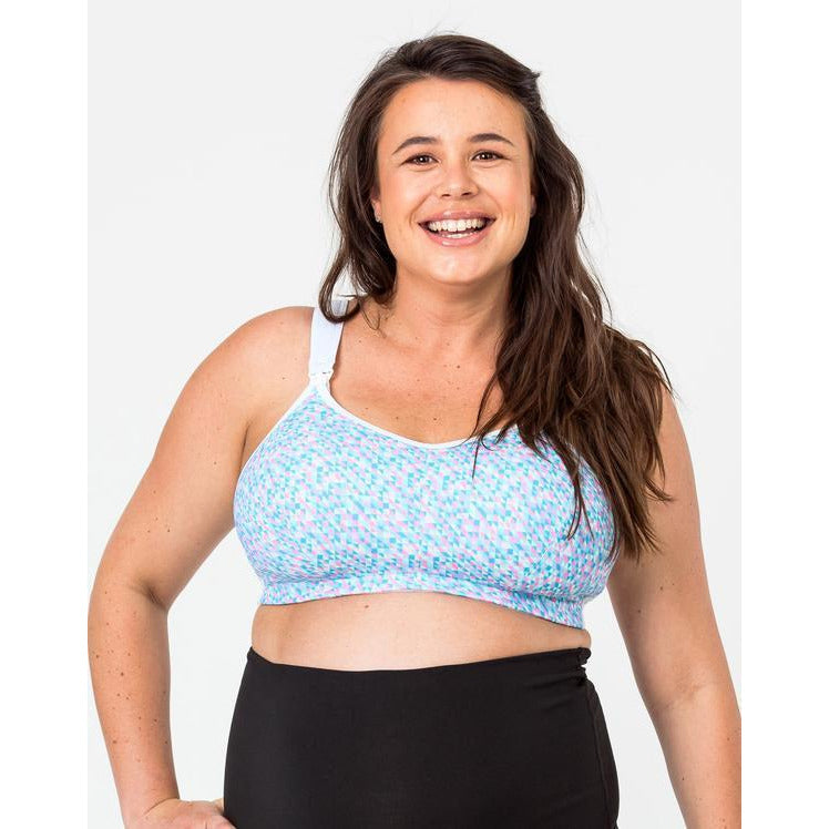 Nursing Sports Bra - Ultimate Confetti - Baby Luno